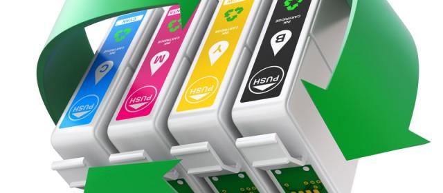 Nye blækpatroner i printeren, så se med her